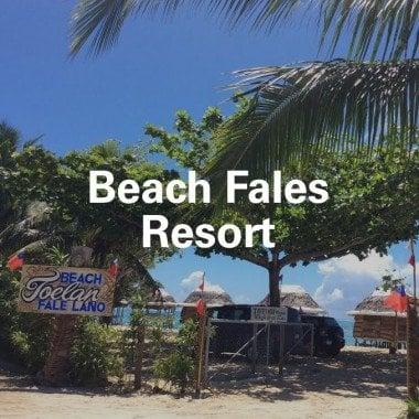 Beach Fales Resort