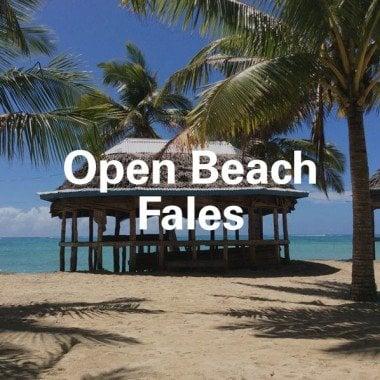 Open Beach Fale
